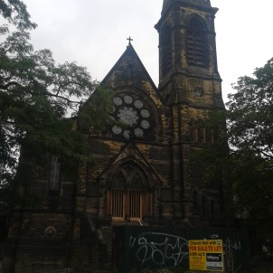 The Headingley Hill Congregational Church, also currently vacant, was built in the 1860s by Leeds architect Cuthbert Brodrick, who designed many of the city's best-known buildings.