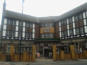 The prominent corner location of the Hyde Park pub makes it a familiar landmark when heading north towards Headingley.