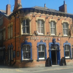 The Pack Horse is one of the oldest and most intimate pubs on the Otley Run, and a venue for live music and other events. At the time of writing (October 2018) it is temporarily closed following a change of ownership.
