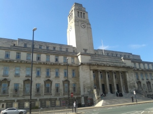 The Parkinson Building is one of Leeds' most distinctive buildings, thanks to its tall clock tower which can be seen for miles around. It houses the university's art gallery, which is open to the public.